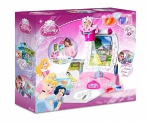 magiczny projektor 3d - disney księżniczki